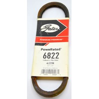 "Gates PowerRated V-Belt #6822, 1/2"" x 22"" for appliances and outdoor equipment"