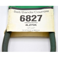 Gates PowerRated V-Belt #6827 for appliances and outdoor machines