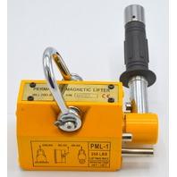 Permanent Magnetic Lifter PML-1 200 lbs Lifting Max
