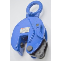 Seagull 1 Ton Vertical Lifting Clamp, #DSQC-1, Jaw Opening 0-15mm - No Box.