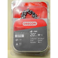 "Oregon D70 - 20"" Replacement Chain Saw Chain - Open box - new."