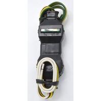Trailer Connector 4 Flat w/ LED Test Lights