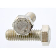 "25 Pcs Hex Head Bolt 1/2""-13 x 1 1/2""Long Stainless Steel.  S30400"