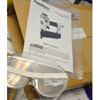 "PowRyte 18 Gauge Air Brad Nailer with Tool-Free Jam Release Mechanism - 5/8"" to 2"""