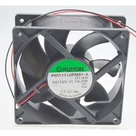 Sunon PMD1212PMB1-A 12V, 19.2W, 120x120x38mm Dual Ball Bearing Fan 2 Wire.