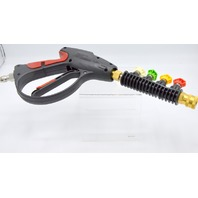 Twinkle Star Pressure Washer Gun,4000 PSI - 4 Color pressure water washer nozzles.