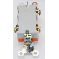 Pass & Seymour #PS20AC3-L Three Way Locking Switch 20A, 20/277VAC with Key.