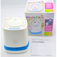 Munchkin Nursery Projector and Sound System White Model MK0038