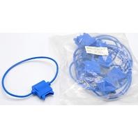 In-Line fuse holder, 14 gauge, no caps, pack of 10 color blue #FH-14-Blue.