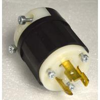 Leviton 20A, 250V Twist Lock Plug  #L-6-20P