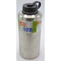 Lifeline 64 oz Double Wall Vacuum Insulated Hot or Cold-Stainless Steel Growler# 7508