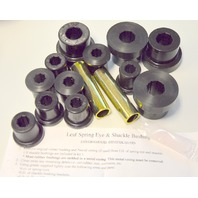Prothane 1-1002-BL 1776-1986 Jeef CJ 5 CJ7 front spring eye & shackle bushing kit.
