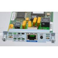 Cisco t1 Fractional WAN Interface card  #800 03279-03D0  ds2