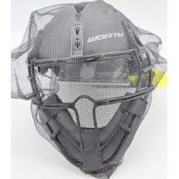 Worth Legit Slowpitch Softball Pitcher's Mask/Helmet.  New. LGTPH-B