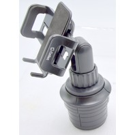 """Cellet PH600 Smartphone Cup Holder Mount-Holds a 3.5"""" cell phone.  Open box."""
