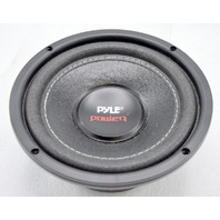 "Pyle Power PLP6WD 6"" 600 Watt Dual 4 Ohm Subwoofer - Black. Open box."