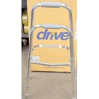 #10240-1 Drive Midical Side Style Hemi One Arm Walker Chrome, Adult 300lbs