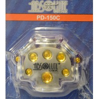 Absolute USA PD-150C Chrome Plated Power Distribution Block