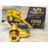 Fumoto Engine Oil Drain Valve F107SX M12-1.75 Thread Universal Fit.  #F107SX