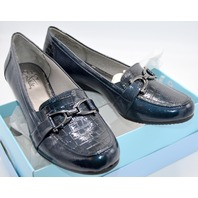 Dempsey, Navy 2 Life Stride Shoes, Size 10W Ladies Loafer. #49397402