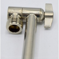 """Hotel Spa Solid Brass Extendable Shower Arm 11"""".  Directions Enclosed.  #4203"""