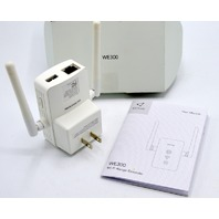 Victure WE300 Wi-Fi Range Extender with User Manual.  Open Box