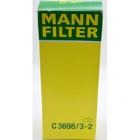 Mann Air Filter Set C3698/3-2  Luttfilter Air Filter for Mercedes-Benz