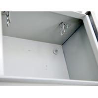 "Hoffman A10R86HCR Rainproof Metal Junction Enclosure 10x8x6""."