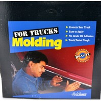 "Style Guard Truck Side Molding #T4701 2"" x 18' BLK/CHR - New Old Stock"