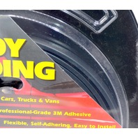 """Style Guard Wheel and Body Molding #T3402C 5/8"""" x14' Black Color-New Old Stock"""