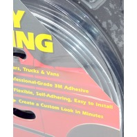 "Style Guard Wheel and Body Molding #T3102C 5/8"" x 2-7' Black Color-New Old Stock"