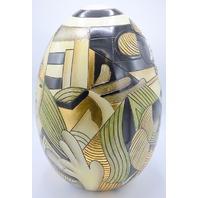 "18"" Picasso Egg #9902 - 703, Decorative Pottery - New"