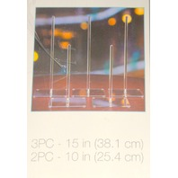 5 Pc. Donut Stand-Clear Acrylic-for party's or wedding's. New open box. Victoria Lynn.