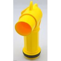 "Polyethylene #JDFT Plastic Manual Handle Jumbo Drum Faucet,fits 2"" drum opening."