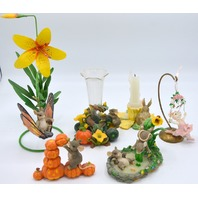 Collection of Mice Figurines  by Priscilla Hillman and Charming Tails and more - 40 pcs.