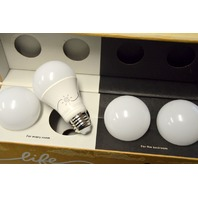 C by GE A19 2 C-Life and  2-Sleep Smart.  Open box.  Working.