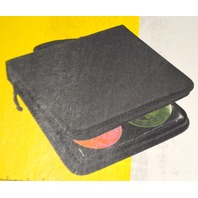 128 Disc Portable CD DVD Wallet Holder Bag Case Organizer.  #854267 New