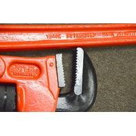 """Rigid Super Four Compound Leverage Pipe Wrench  36"""""""