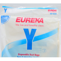 Pack of 3- Eureka Disposable Dust Bags #58183A  - Y Series 6400