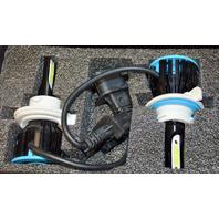 XOTIC TECH Automotive Lighting LED Headlight System Kit H13 9008 Ice Blue.