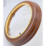 "The Sculpt Richfield Petite Frame -Round Wood  7 1/4"" I.D & 9 3/4"" O.D.x 1"" W #75873"