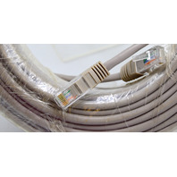 UTP CAT5E Premade Cable - 100' - Gray - New