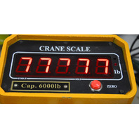 Vestil Crane Scale #SC-6, 6000 lbs for Forklift.  Middle segment has one segment out.