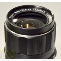 Super Multi Coated Takumar Lens 1:2/35 w//tajynar 1:35 135mm lens hood.#6034294