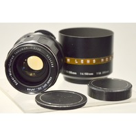 Super Multi Coated Takumar Lens 1:2/35 w//tajynar 1:35 135mm lens hood.#6034294