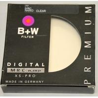B+W 77 #1066111 FILTER MRC nano, XS-PRO Clear - Premium