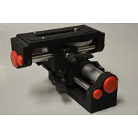 Macro Tripod Slider Focusing Head w/ 2 Threaded Screw Holes for attachments.