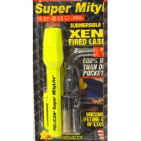 2 Pelican Super MityLite Flashlights: Submersible to 500', Xenon fired Laser Spot