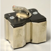 StrongHand Tools: PowerBase Grounding Magnet w/ on/off Lever, 300A, #GM203