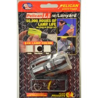 Pelican #1930-017-110  #1930C LED lamp color Blue/Green - Case Black